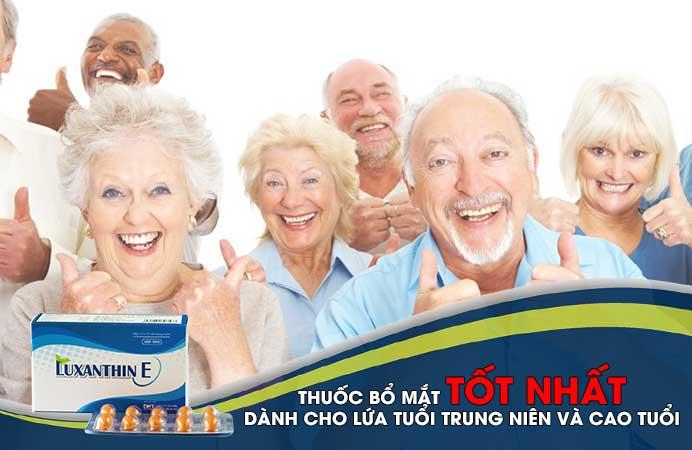 thuốc bổ mắt dành cho người già, cao tuổi, trung niên